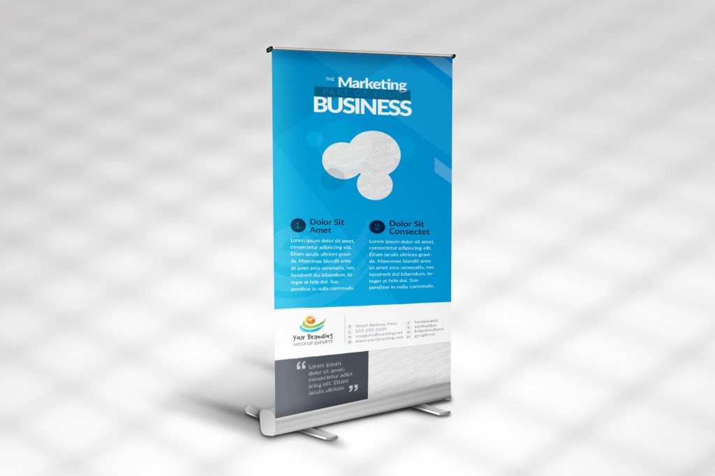 Stand Outdoor Banner