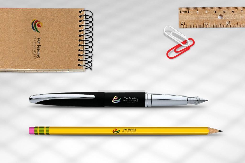 Pen & Pencil Mockups