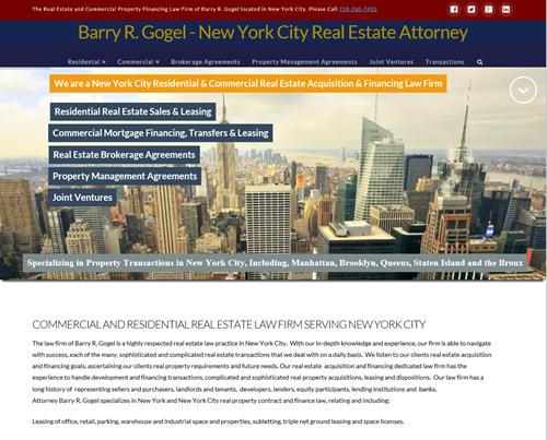 Barry Gogel Real Estate Finance Lawyer