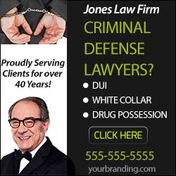 Criminal Lawyer Banner