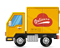 Truck delivery of purchases by all major carriers