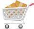 Ecommerce website online shopping cart