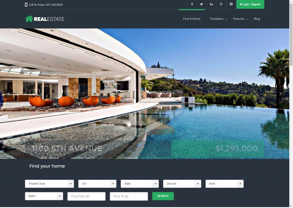Real Estate Full Working Mockup